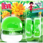 Dr. Devil WC záves gél 3 x 55ml Spring Jungle