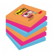 "Bločky Post-it Super Sticky ""Bangkok"" 76x76mm"